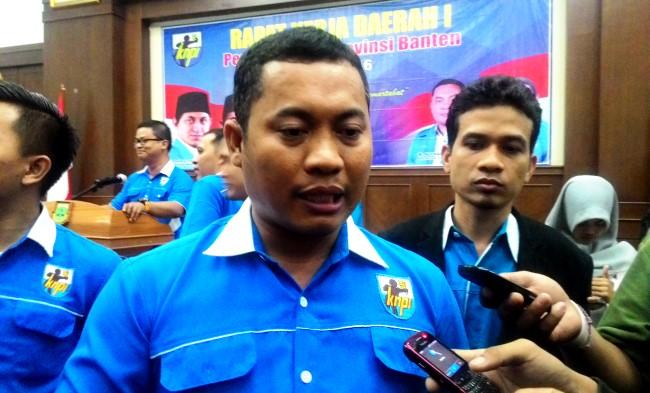 Ketua DPD KNPI Banten Ali Hanafiah