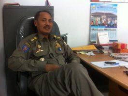 Sekretaris Satpol PP Kota Serang, Ahmad Yani.