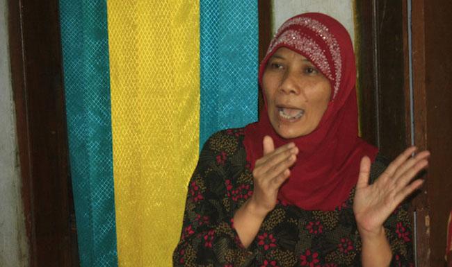 Sri Hartatik, warga di Pekalongan, Jawa Tengah yang mengaku sebagai utusan Tuhan. Foto: Radar Pekalongan/JPG