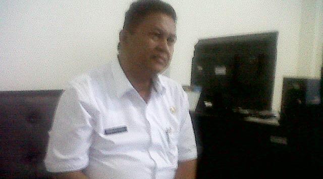 Kepala Kantor Damkar Kota Cilegon, Habibullah.