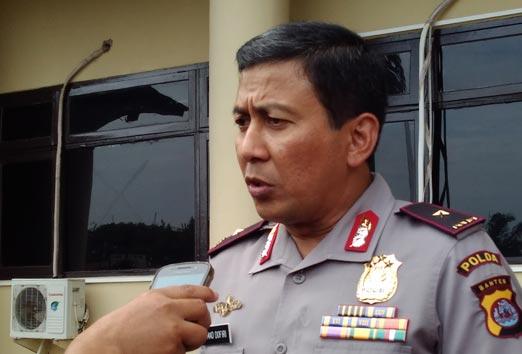 Kapolda Banten, Brigjen Pol Ahmad Dofiri.
