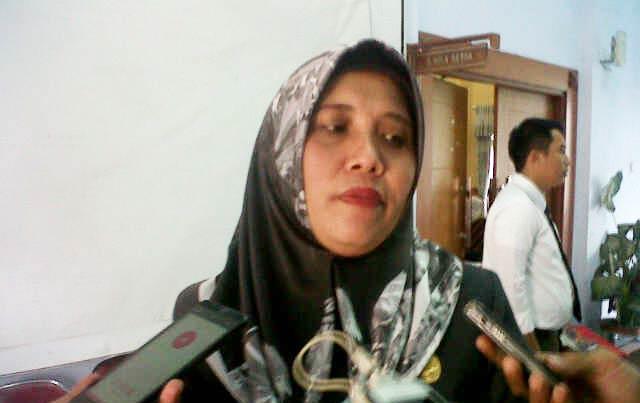 Plt Sekda, Ratu Ati Marliati.