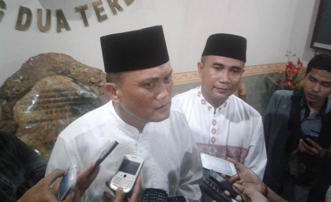 Dandim 0602/Serang, Letkol Inf Oki Andriansyah Adiwirya.