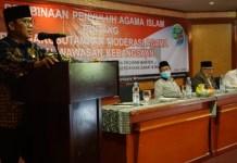 Ketua Komisi VIII DPR RI Yandri Susanto saat memberikan sambutan.