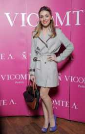 Andreea Ibacka, in outfit Vicomte A.