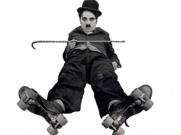 Chaplin, Charlie (Rink, The) copyright Collection Lobster films