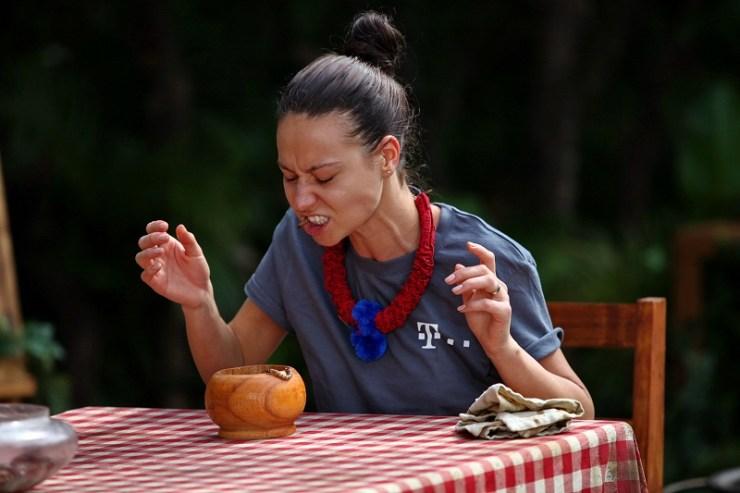 Andreea Moldovan la Provocarea junglei PRO TV