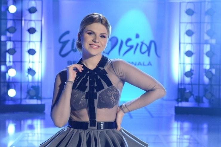 Cristina Vasiu eurovision