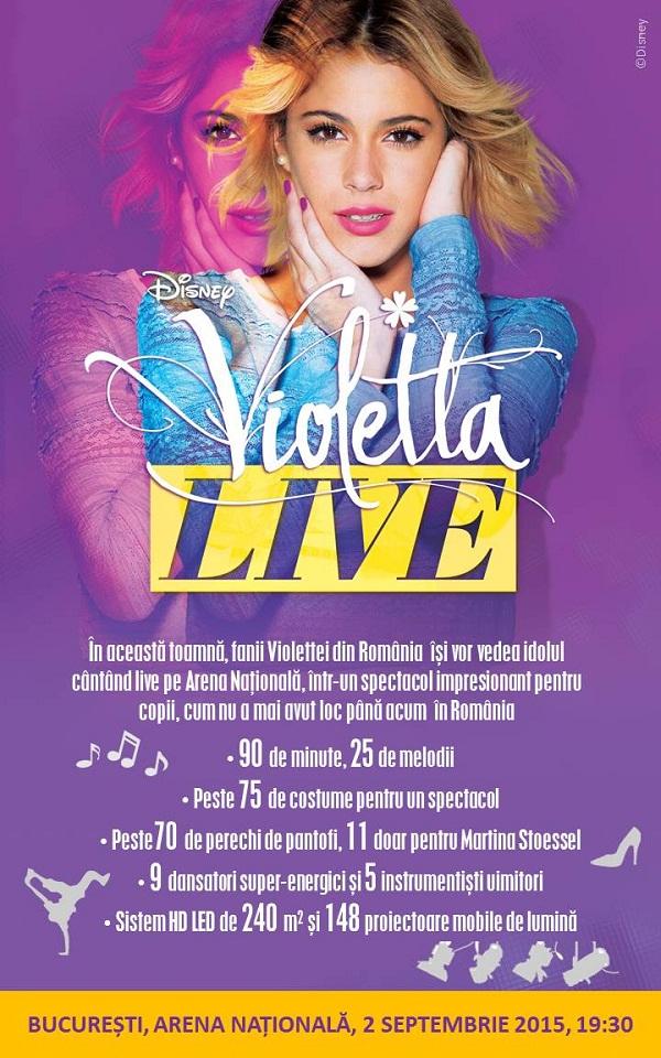 Violetta Live afis - disney
