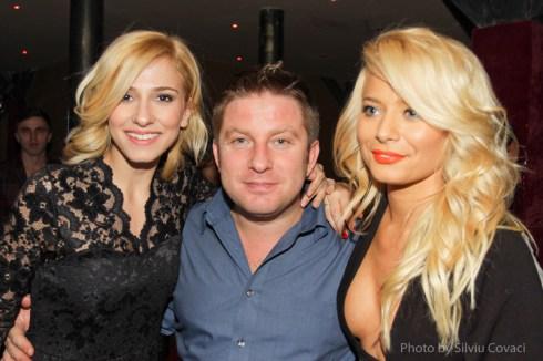 Dana Rogos, Pavel Bartos si Laura Cosoi la Gala Premiilor RADAR DE MEDIA 2012