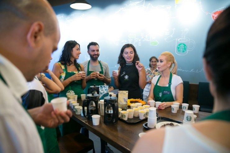 Xonia, Andreea Francu (Starbucks), George (Deepcentral), Vlad Huidu
