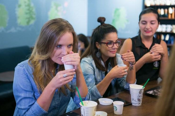 Ioana Maria Molodvan, Oana Tache & Barista Starbucks
