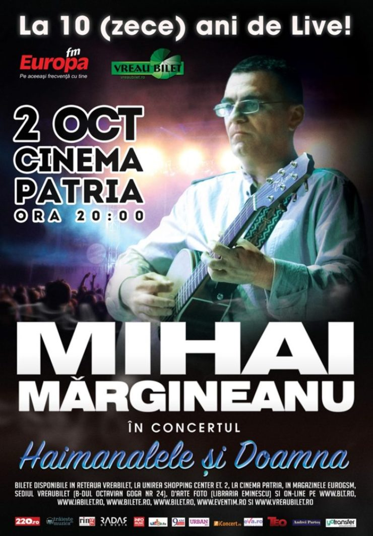 Mihai Margineanu Afis parteneri