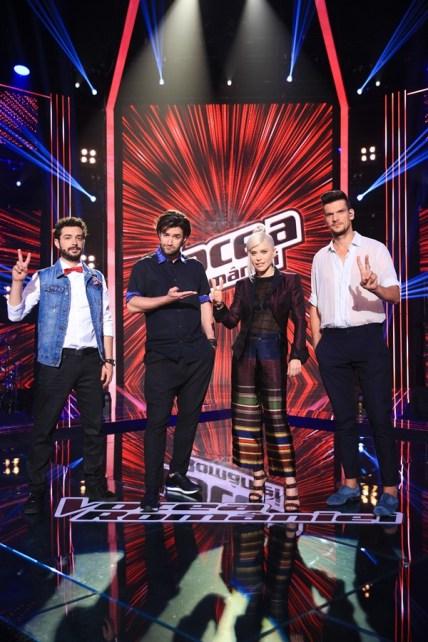 Marius Moga, Smiley, Loredana, Tudor Chirila VOCEA ROMANIEI PRO TV
