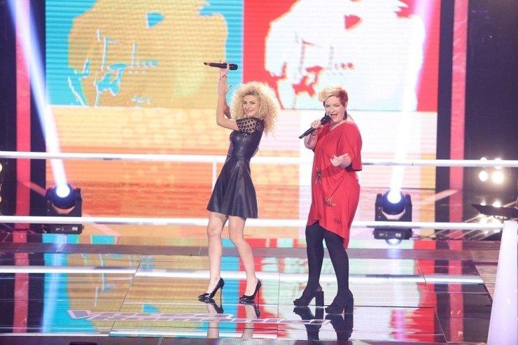 Alina Coltan si Nora Denes