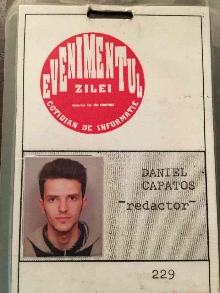 Dan Capatos 1993