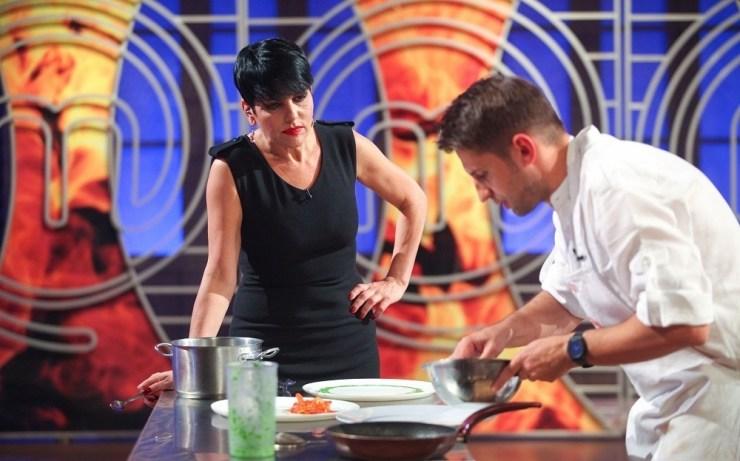 Chef Patrizia Paglieri si Claudiu