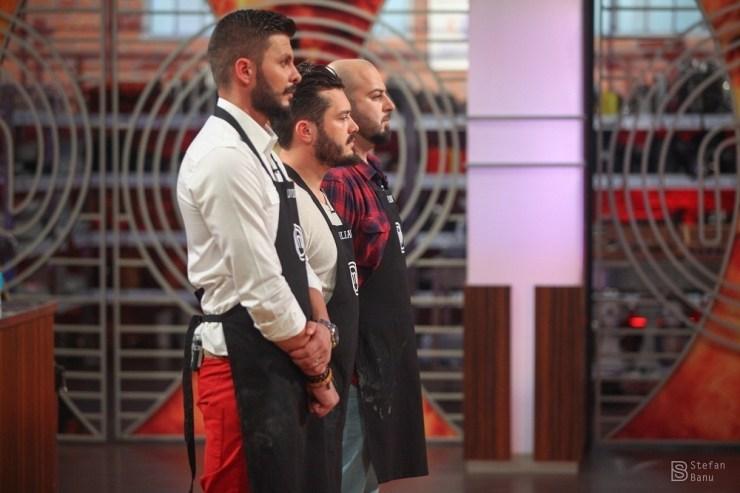 Liviu, Iulian, Florin MASTERCHEF PRO TV