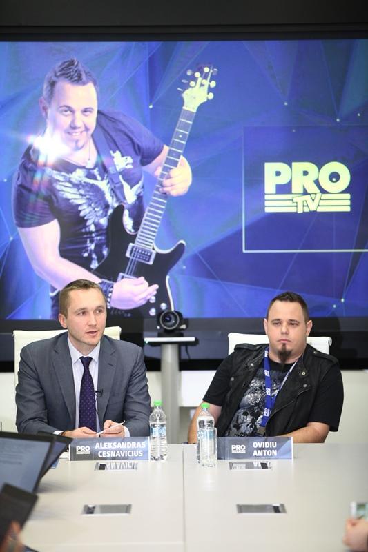 Aleksandras Cesnavicius si Ovidiu Anton PRO TV