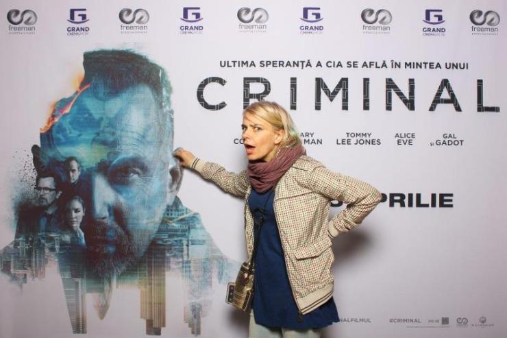 Gianina Corondan avanpremiera Criminal Freeman Entertainment
