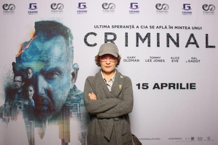 Mirela Vescan avanpremiera Criminal Freeman Entertainment