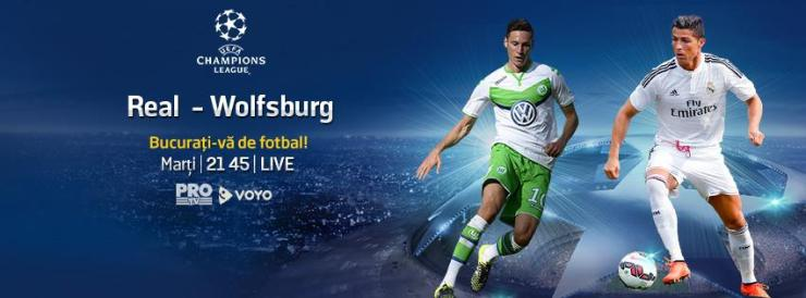 Real - Wolfsburg