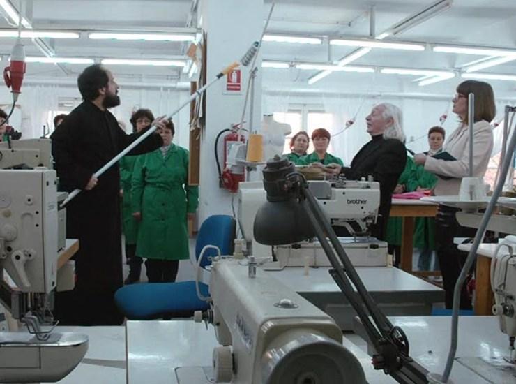 Sfintirea fabricii de textile ATLETICO TEXTILA