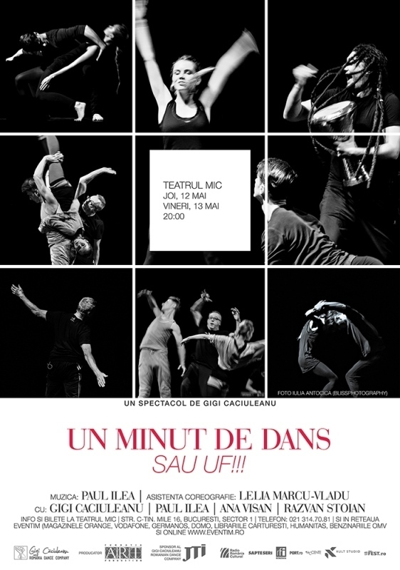 Un minut de dans sau uff_Gigi Caciuleanu_afis