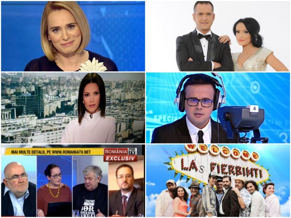 AUDIENŢE TV IANUARIE 2017: Analiză completă pentru toate posturile TV. PRO TV, ROMÂNIA TV şi ANTENA 3, creşteri spectaculoase! Grafice, aici!
