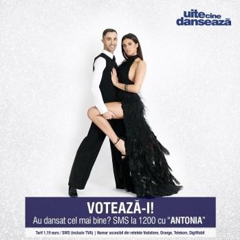 Antonia si Paolo Campigotto UITE CINE DANSEAZA PRO TV