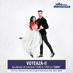 Liviu Teodorescu si Marica Derdene UITE CINE DANSEAZA PRO TV