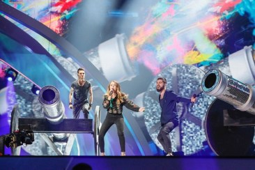 EUROVISION 2016. Primele repetitii de la Kiev, Ilinca si Alex Florea, TVR (1)