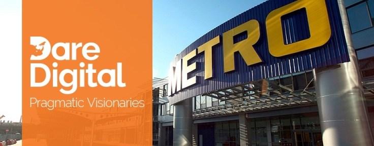 Dare Digital - partener strategic METRO Romania
