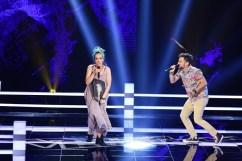 Ioana Visinescu si Marius Stoica VOCEA ROMANIEI, PRO TV