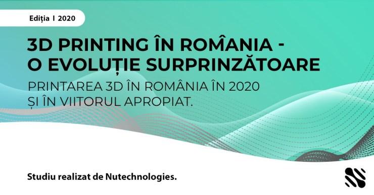 Studiu 3D Printing Romania