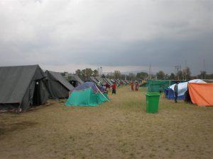 acampamento nepal
