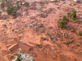 O mar de lama que desceu de Mariana e a ação da igreja