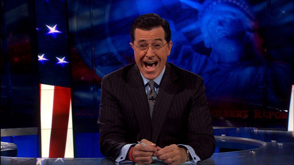 Stephen Colbert – Grinning to Social Media Success