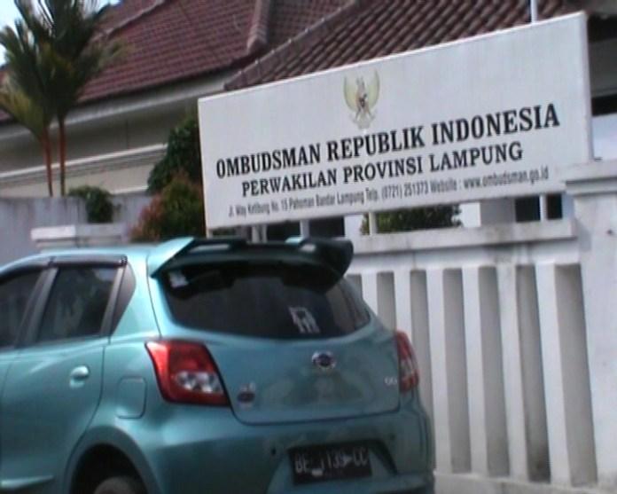pemprov lampung dan ombudsman lampung