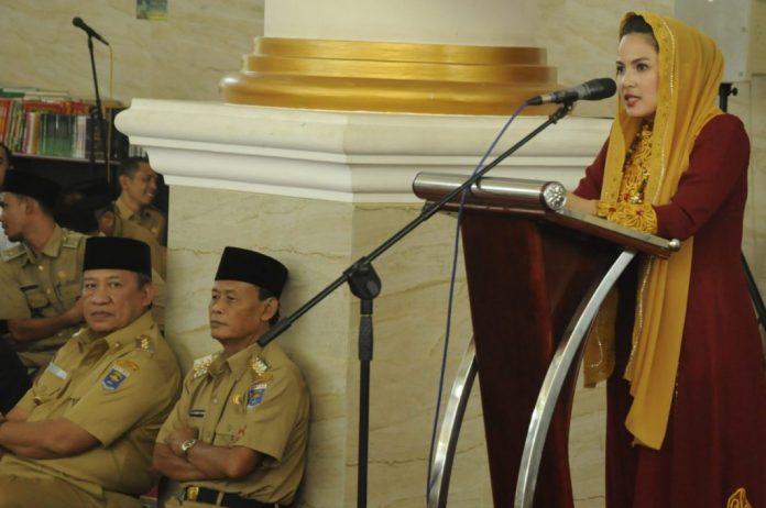 Ketua Tim Penggerak PKK Provinsi Lampung Resmikan Majelis Ta'lim At-Taqwa Metro