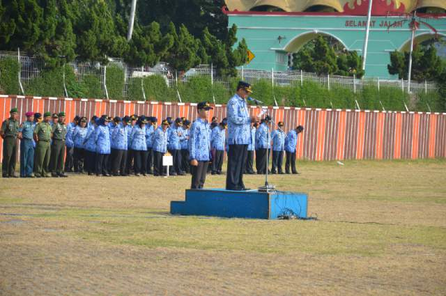 Pemerintah Provinsi Lampung apresiasi petugas pelaksana arus mudik dan arus balik lebaran tahun 2016