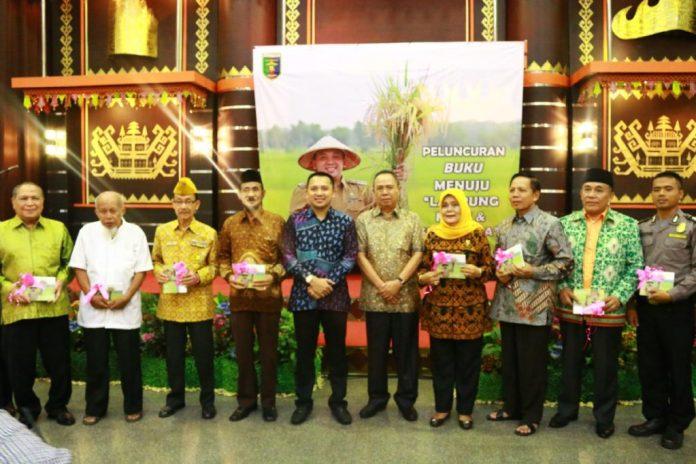 Rilis Booklet Menuju Lampung Maju dan Sejahtera sebagai acuan pembangunan provinsi Lampung