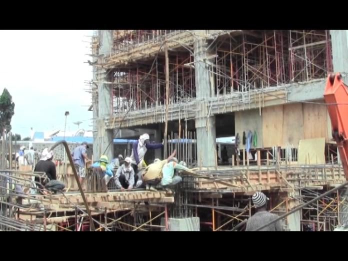 Realisasi Gedung 8 Lantai Baru Capai 15 Persen