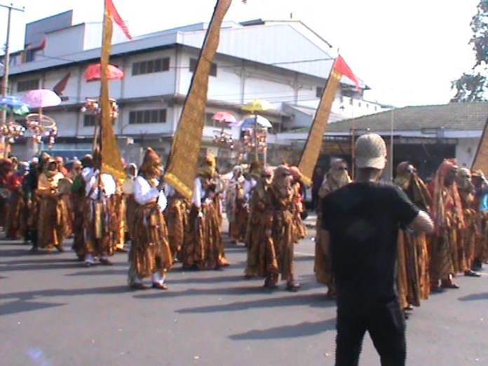 Pawai Budaya Hibur Masyarakat Kota Bandar Lampung