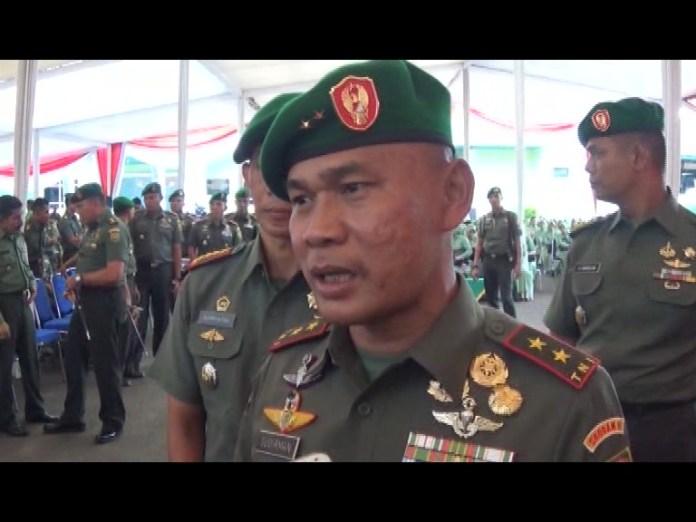 Pangdam Minta TNI Berbuat Baik Untuk Masyarakat Lampung