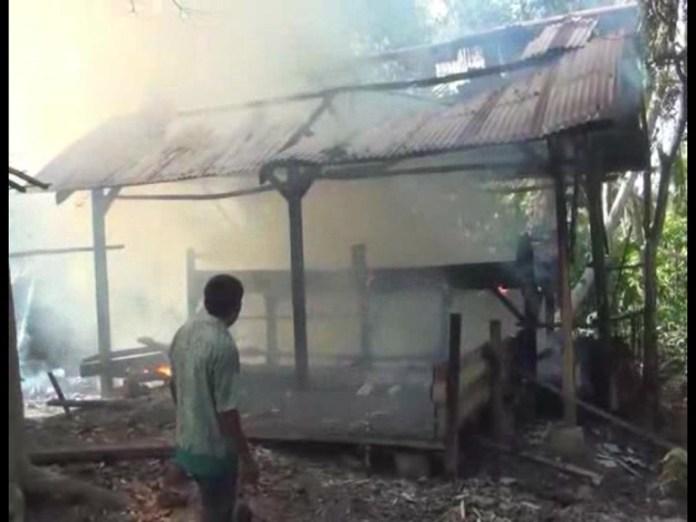 Pabrik Kopra Ludes Dilalap Sijago Merah