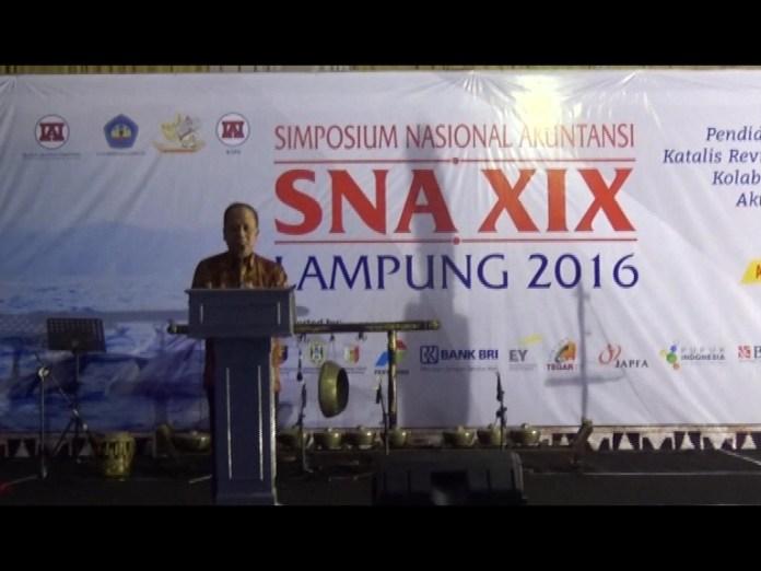 Menristek Buka Simposium Nasional Akuntansi
