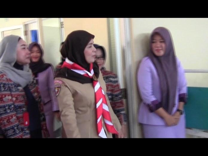 Kwarcap Pramuka Bandar Lampung Bagikan 100 Paket Bingkisan