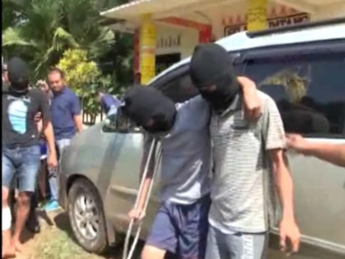 Tim TBC Tekab 308 Lumpuhkan Pelaku yang Berusaha Kabur