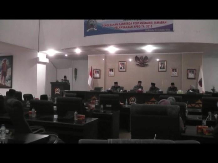 Fraksi Demokrat Kritik LKPJ Bupati Lamsel TA 2015